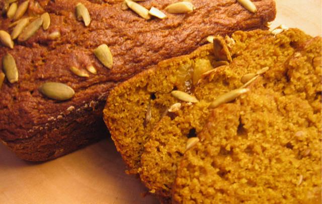 Kamut Pumpkin Bread