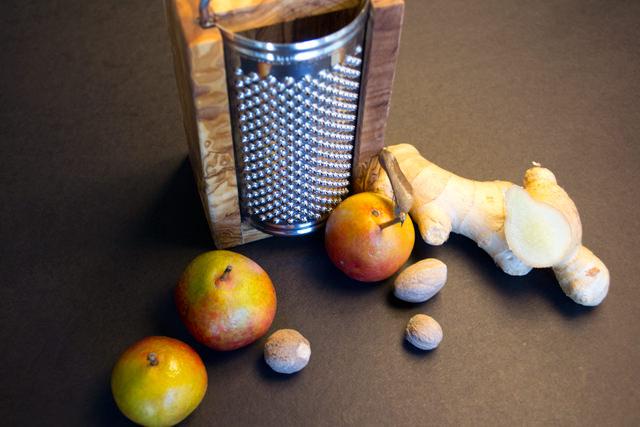 Golden Seckel pears from Aptos Farmers Market