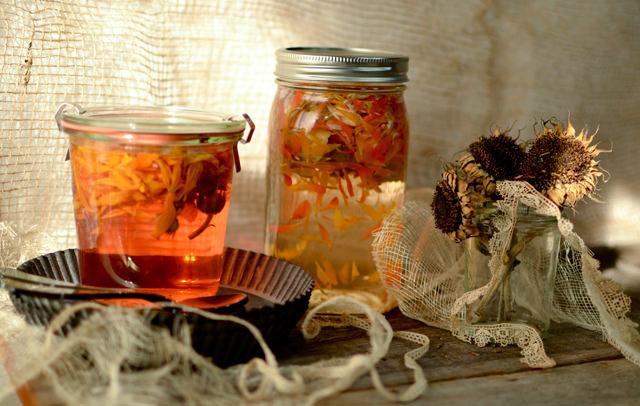 Vinegar and sunflowers