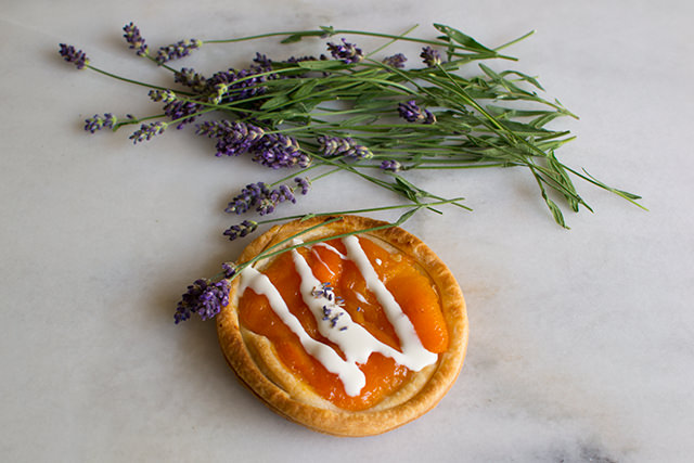Blenheim Apricot Tarts with Lavender