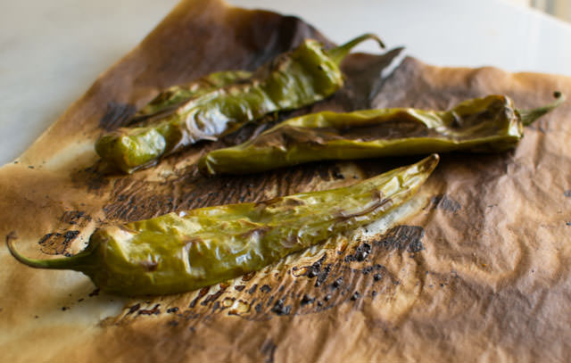 Roasted Hatch Chiles