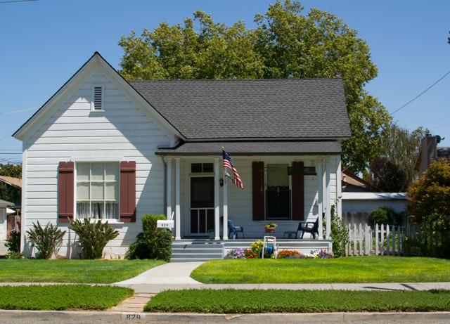 John Steinbeck's grandparent house, Hollister, California