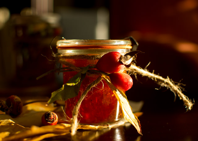 Rose Hip and Orange Marmalade