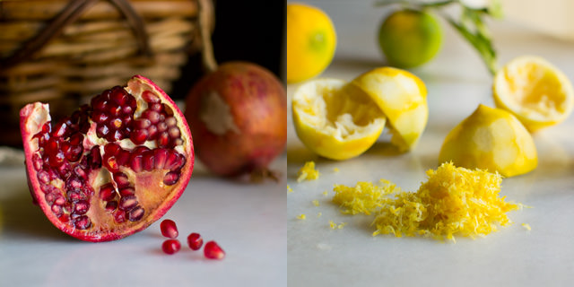 Pomegranate and Lemons