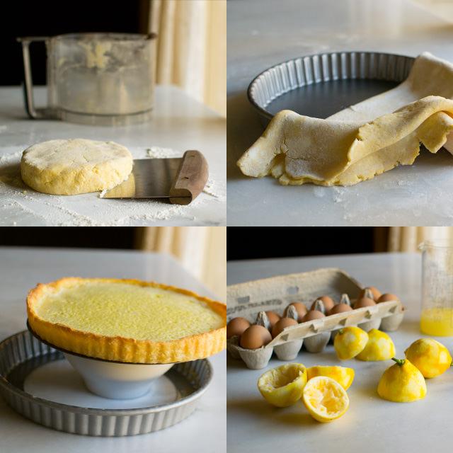 Lemon Tart Prep