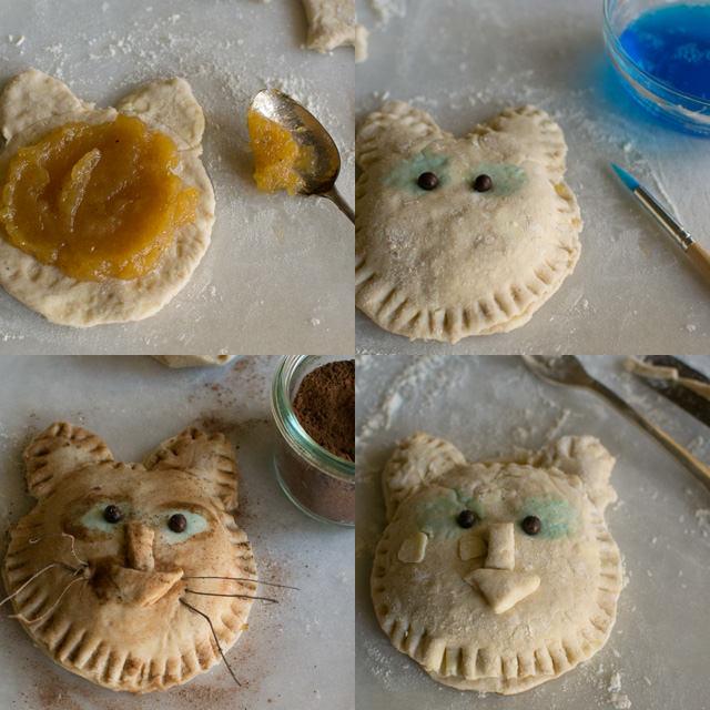 Cat Hand Pies