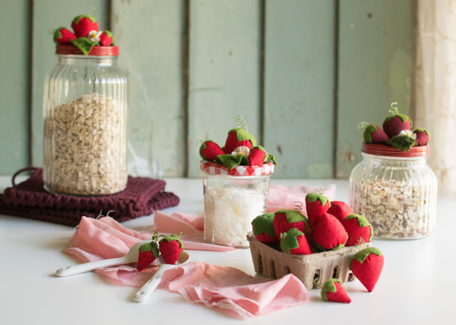 Strawberry Jars