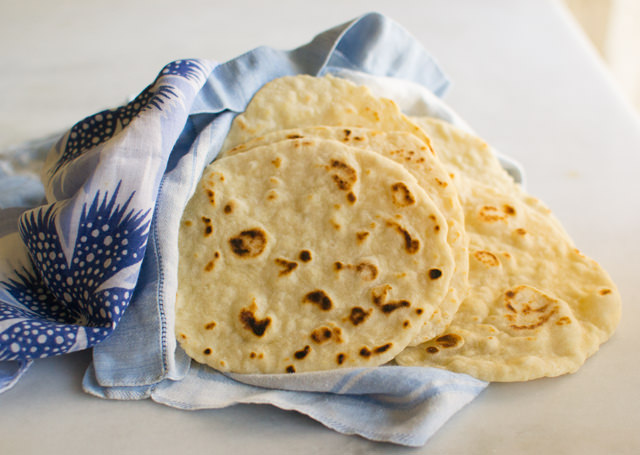 Soft and Fluffy Flour Tortillas