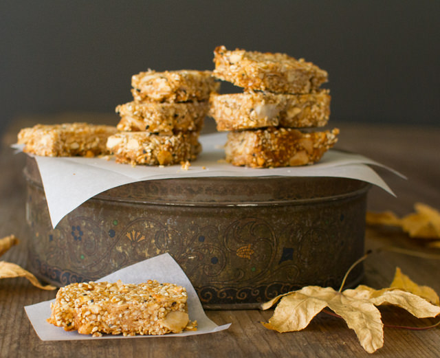 Toasted Sesame Peanut Bars