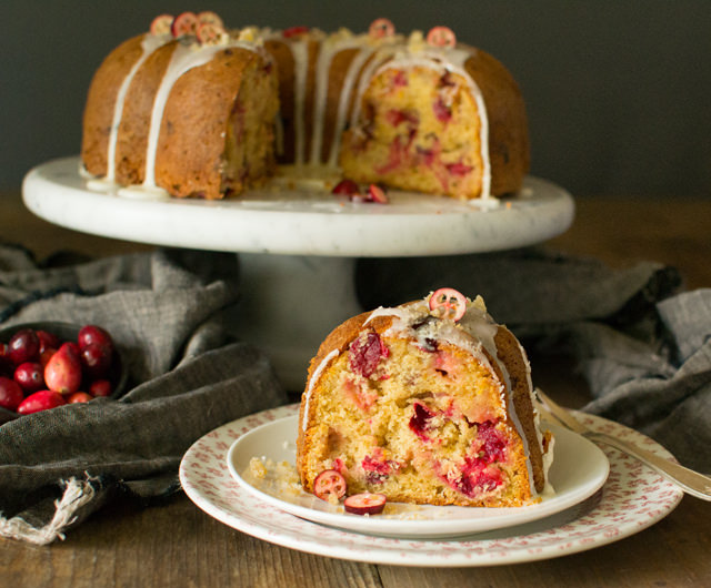 Spiced Cranberry Bundt