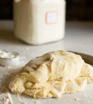 Lemon Ginger Sweet Roll Dough