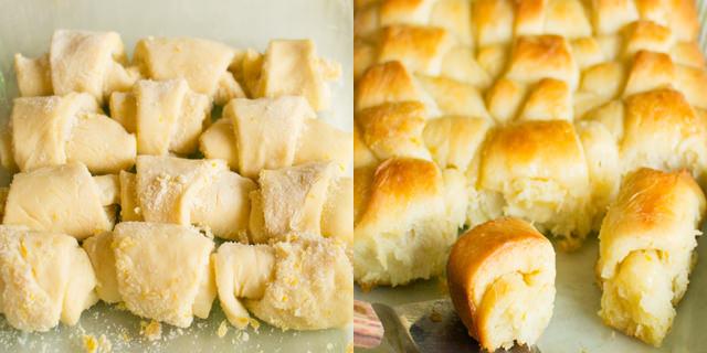 Lemon Ginger Sweet Rolls