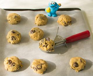 Making Chocolate Chip Cookies