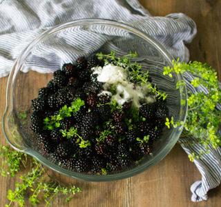 Blackberries and LemonThyme