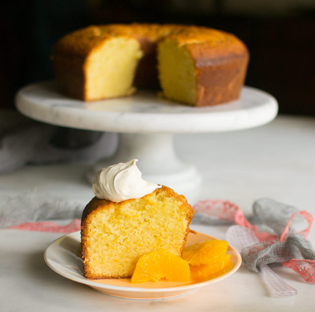 Orange Scented Olive Oil Cake