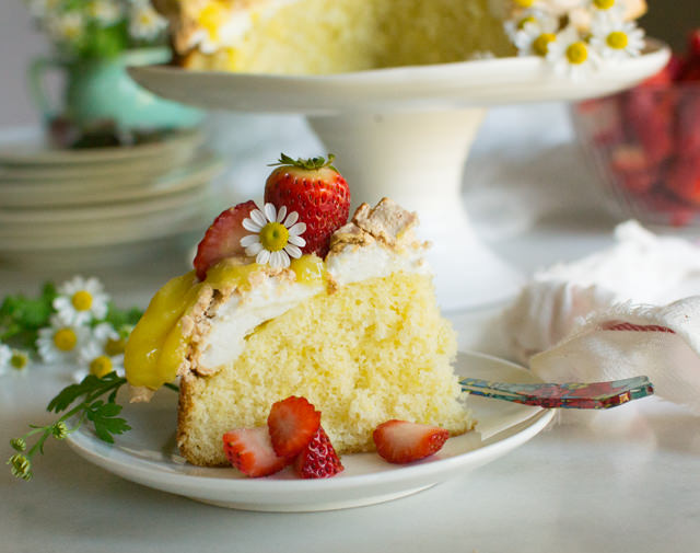 Berry Basket Cake - east of eden cooking