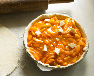 Old Fashioned Apricot Pie