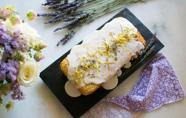 Lemon Lavender Cake