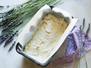 Making Lemon Lavender Cake