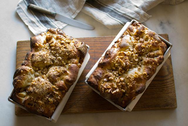 Apple Pie Bread Loaves