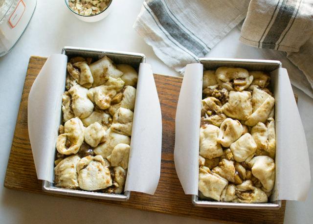 Apple Pie Bread in Loaf Pans