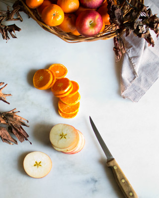 Apples and Tangerines for Potpourri