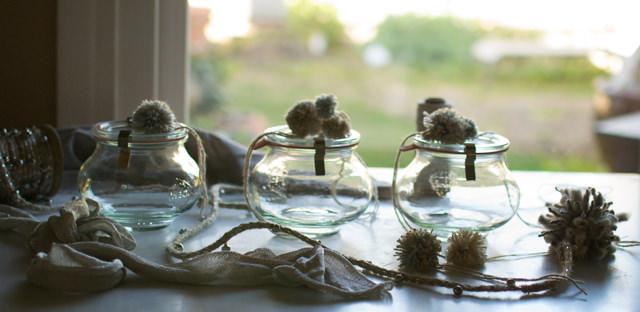 Jars for Potpourri