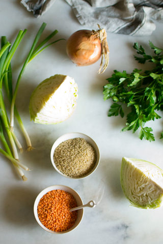Spicy Lentil Wraps Ingredients