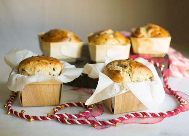 Panettone, the fast and easy recipe